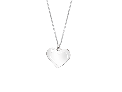 Collar con dije corazon2
